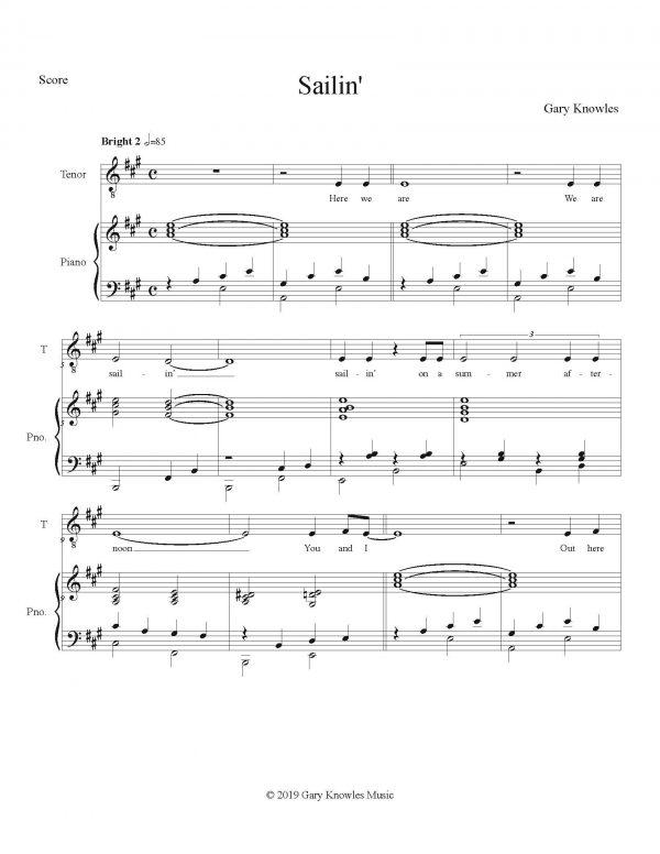 Sailin - Score_Page_1